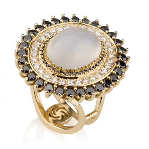 צילום תכשיטים - טבעת פנינה